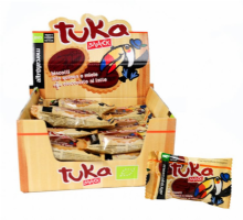 Galleta Tuka con quinoa miel chocolate BIO
