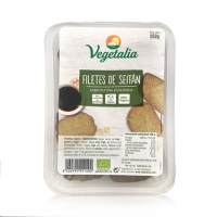 Filetes de Seitan Bio (250 g) Vegetalia